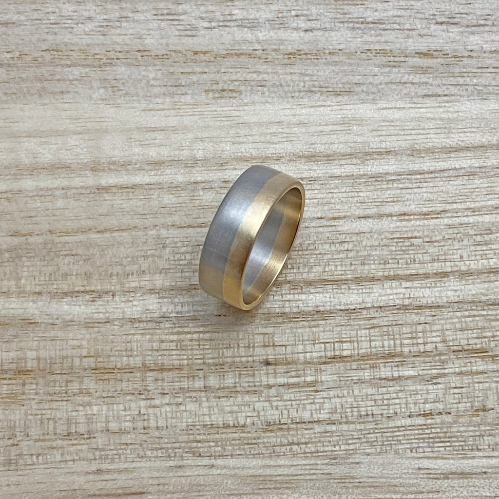 Last One Available - Married Metal Gold Ring