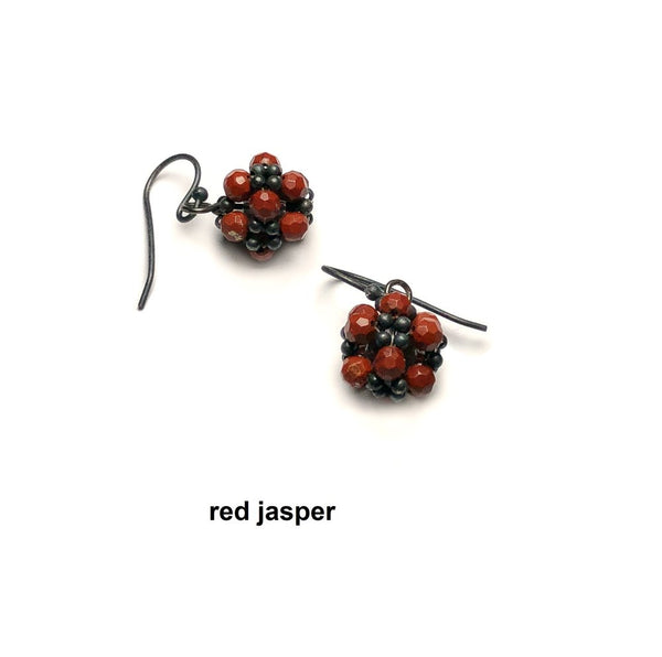 web-Jenny-Fahey-beaded-ball-oxidised-silver-and-red jasper-web text earrings.jpg