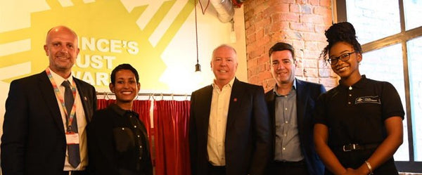 Picture of the Prince's Trust Manchester Launch