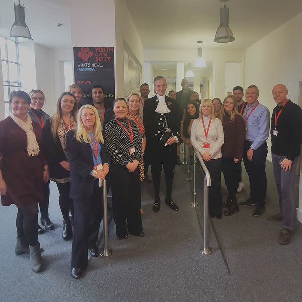 A Picture of the Prince's Trust Burnley Team (not taken by Rachel).