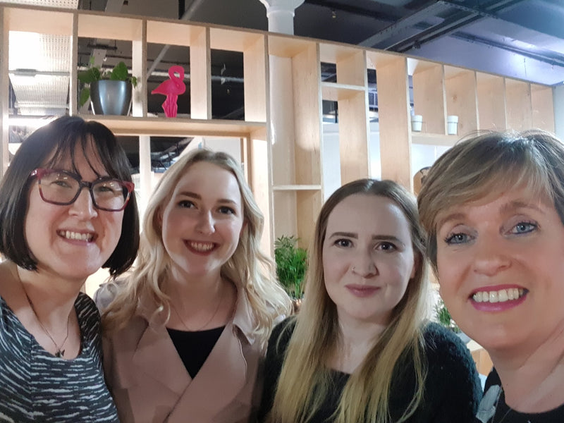 Susanna Lawson, Rachel, Laura and Heather Waters at the Female Tech Founder event.