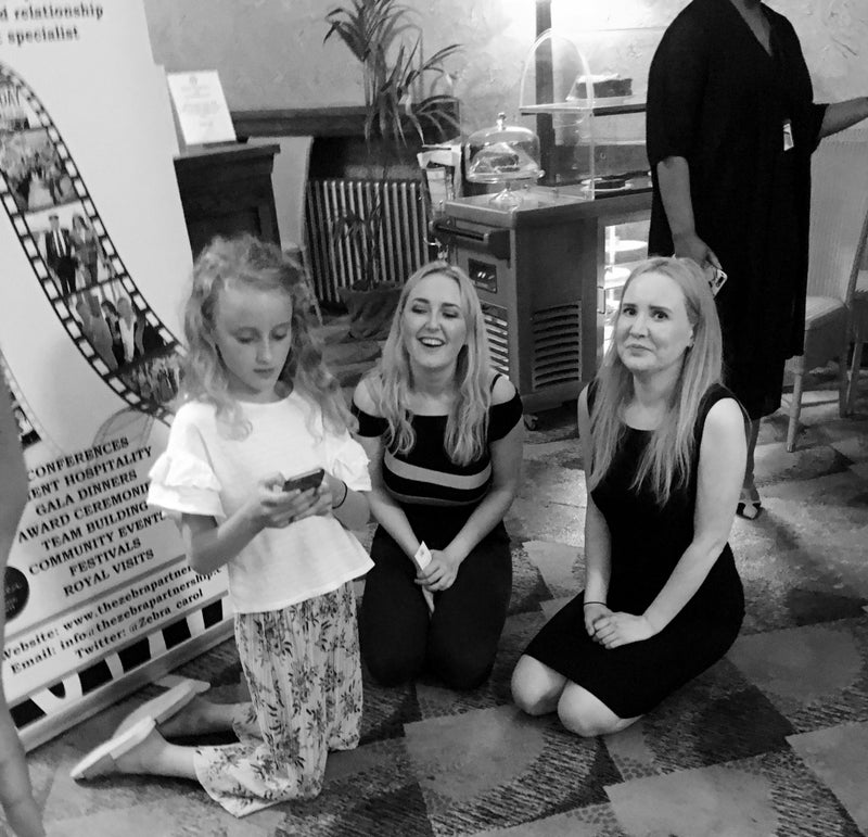 Rachel and Laura at the Disability Stockport Fundraiser