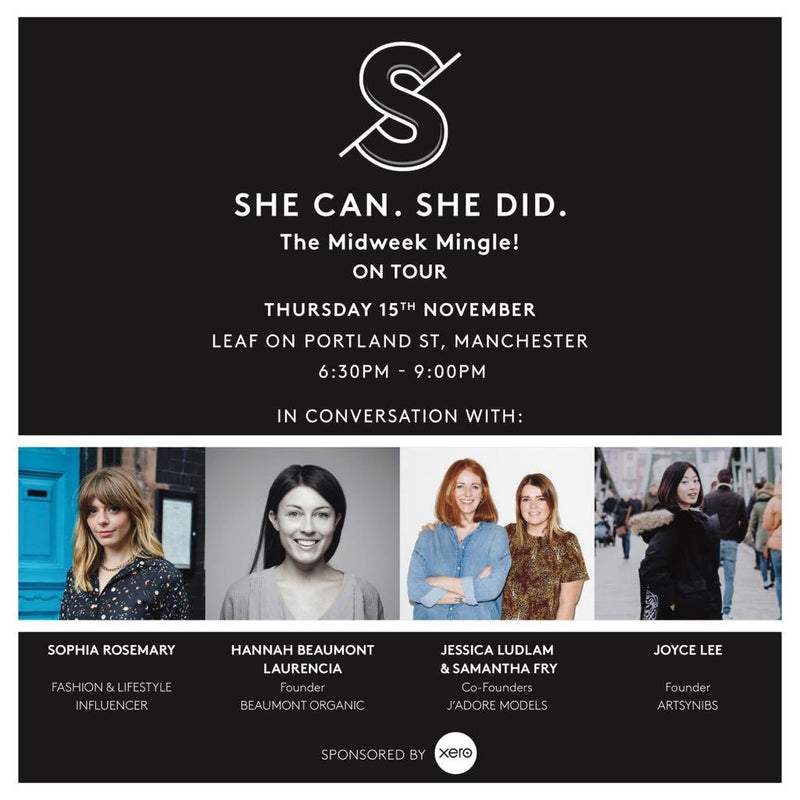 She Can She Did Event poster