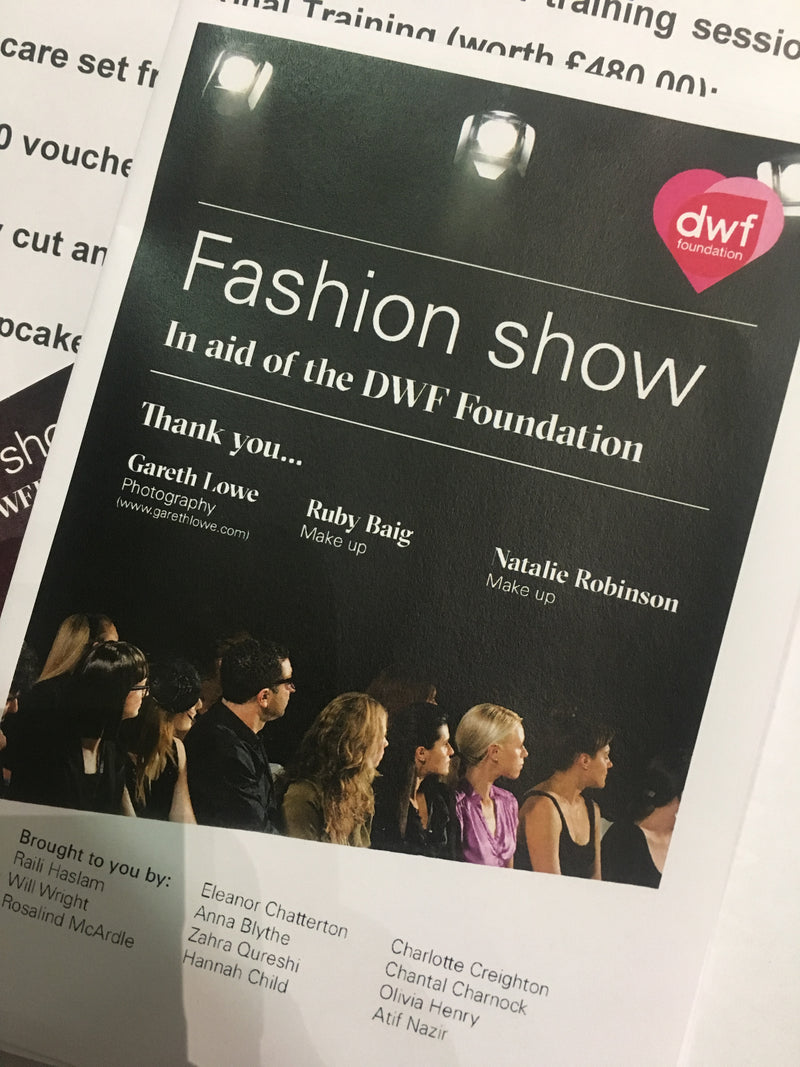 DWF Fashion Show invite