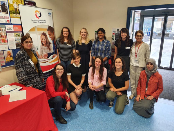 Photo of volunteers for the AMPS Girls' enrichment day
