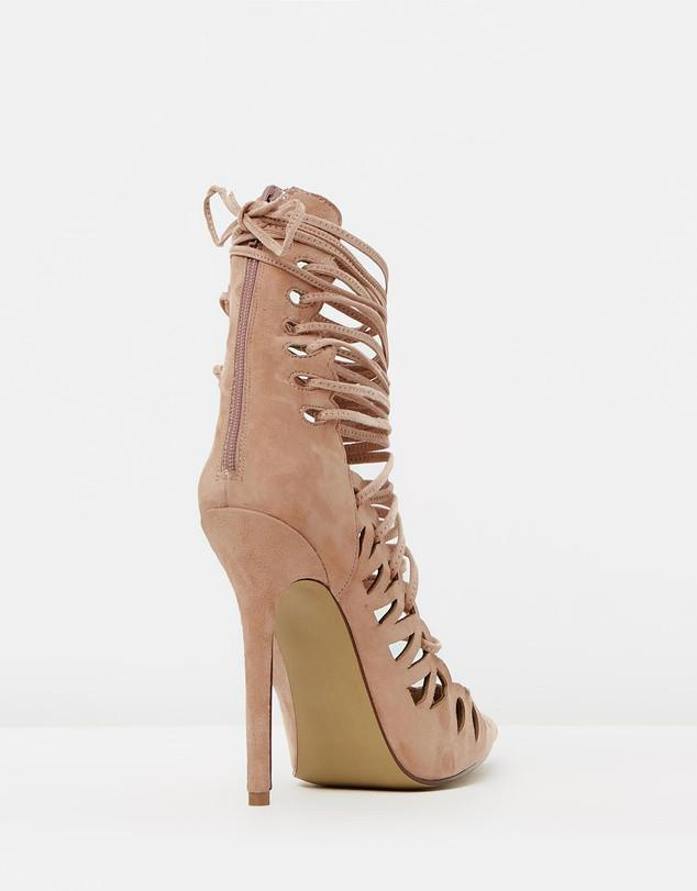 The Breanna Blush Suede By SBB The Label - Amethyst Shoes