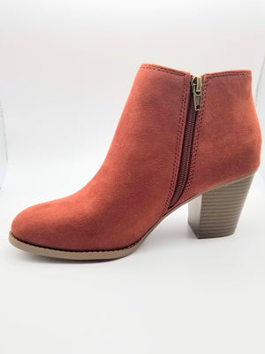 City Classified Habit Booties - Amethyst Shoes