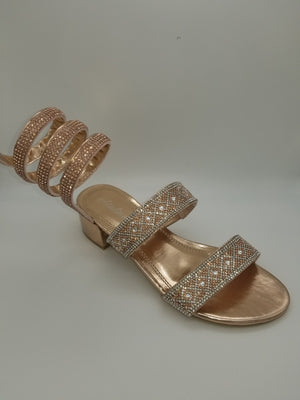 Atalina Sandals - Amethyst Shoes