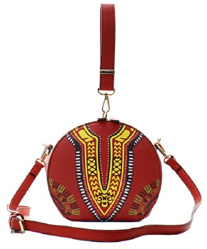 Dashiki Messenger Bag - Amethyst Shoes