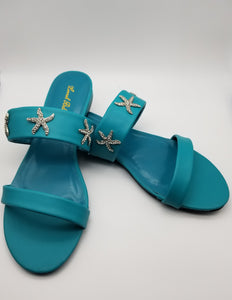 Luna Bella Starfish Sandals - Amethyst Shoes