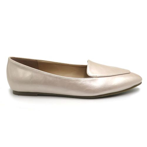 Pearlie Girl Pointed Flats - Amethyst Shoes
