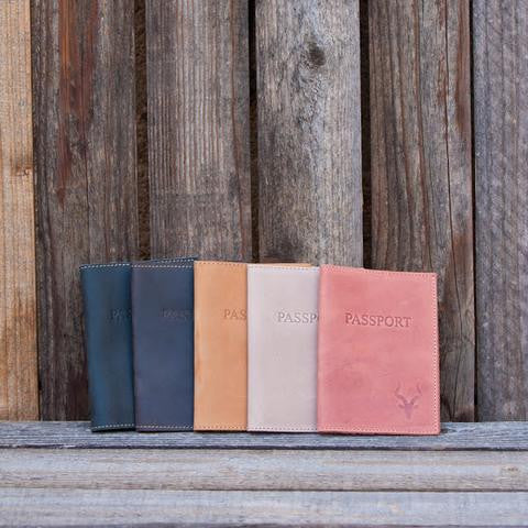 Product Feature of the Week: Leather Passport Holders