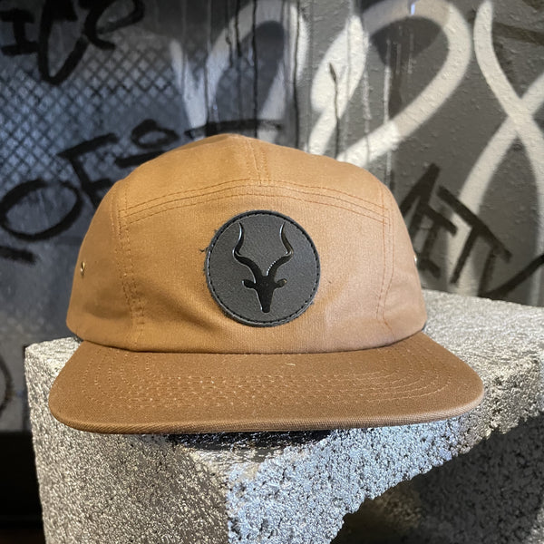 Brown Kob 5 Panel Hat