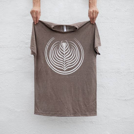 Coffee Latte Art Men's Tee Shirt