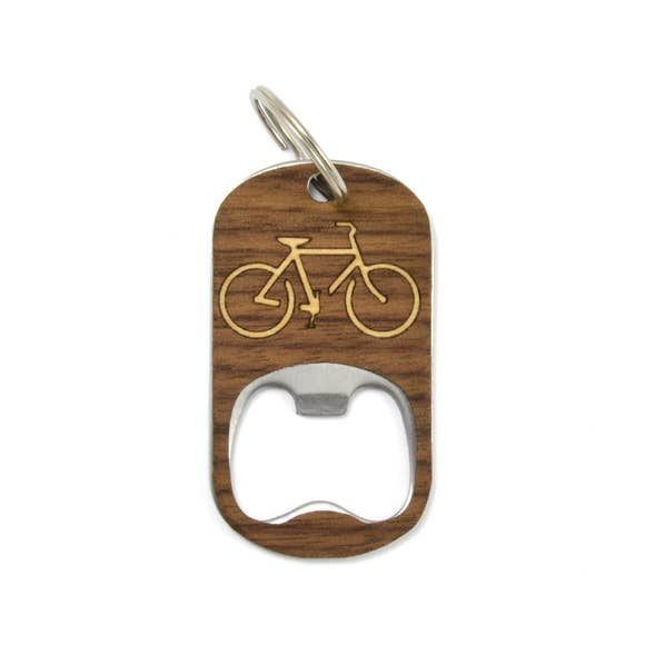 Wooden Bottle Opener/ Keychain