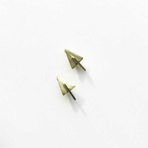 3D Stud Earrings
