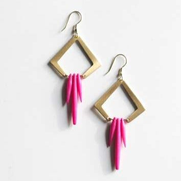 Colorful Quills Earrings