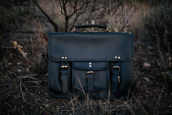 Buffalo Leather Satchel