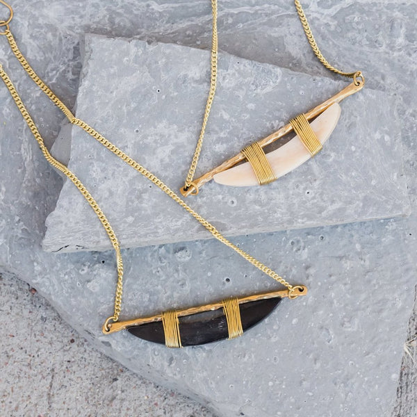 Bone Bar Necklace