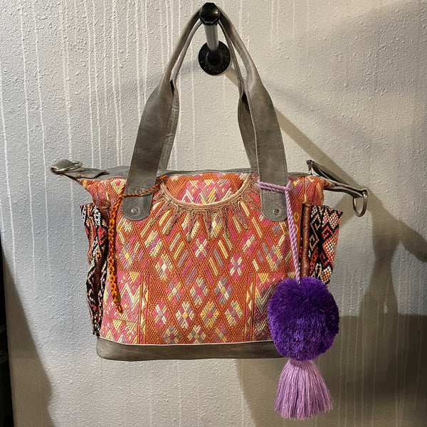 Medium Huipil Convertible Bag