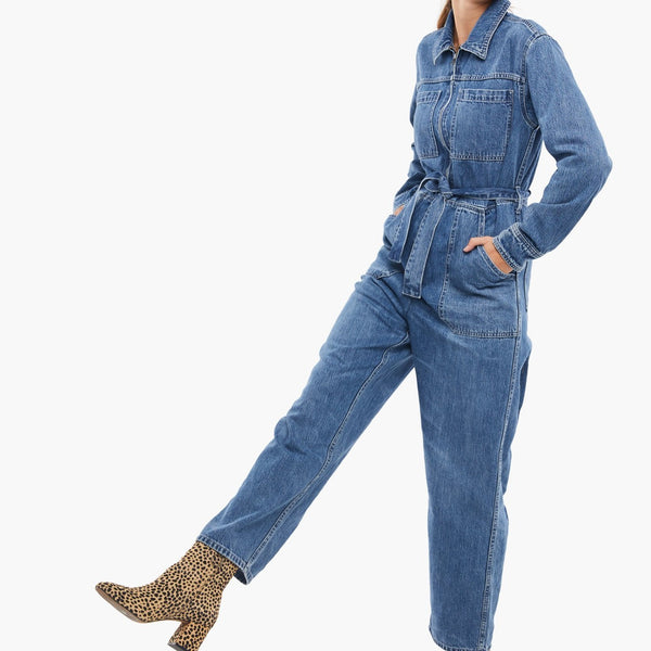 Wendy Denim Coveralls