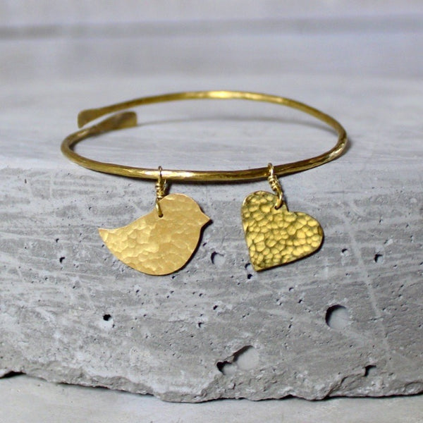 Lovebird Bangle