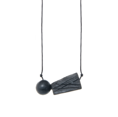 Ceramic Duo Necklace