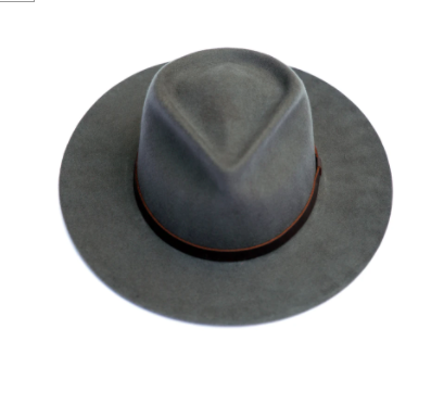 Dylan Fedora in Gray