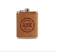 Leather Flask