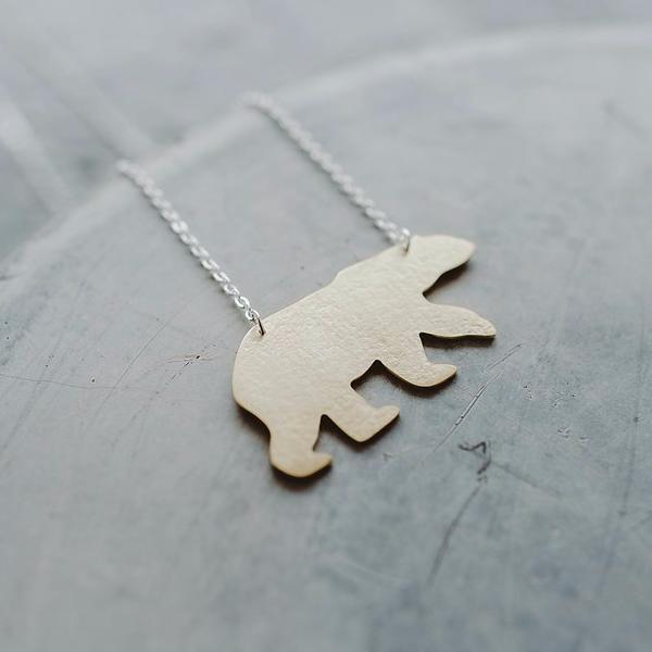 Bear Necklace