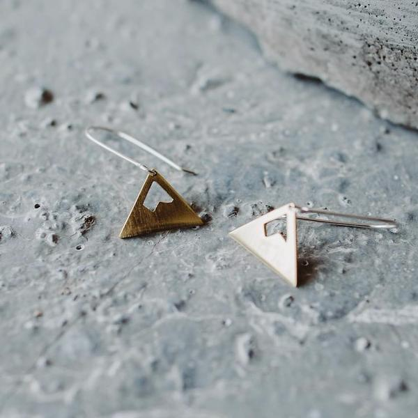 Mountain Peak Earrings