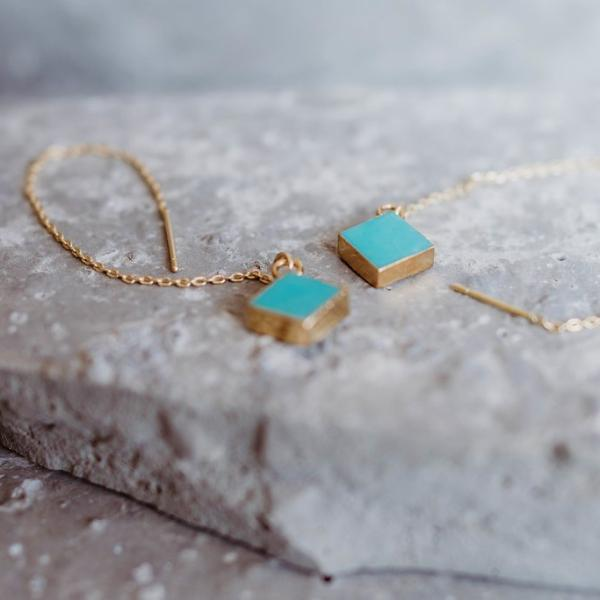 Mary Love Turquoise Dangles