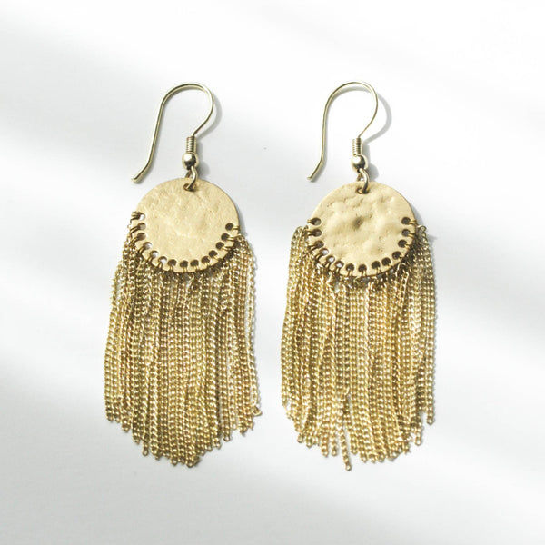 Boho Fringe Earrings