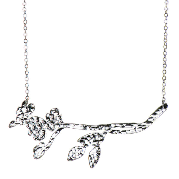 Silver Plated Meadow Flower Necklace