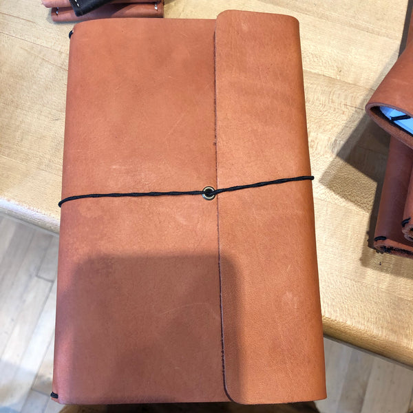 Haiti Made Leather Wrap Journals