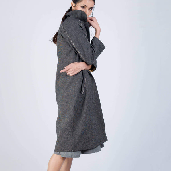 Open Duster Coat