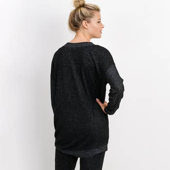 Mixed Hacci Sweater
