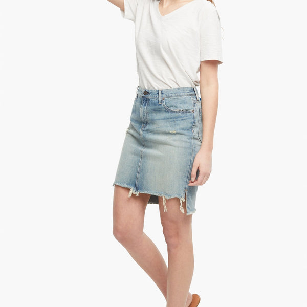 Fatima Denim Skirt