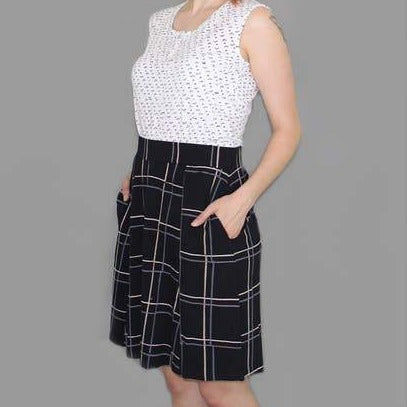 Jane Plaid Skirt