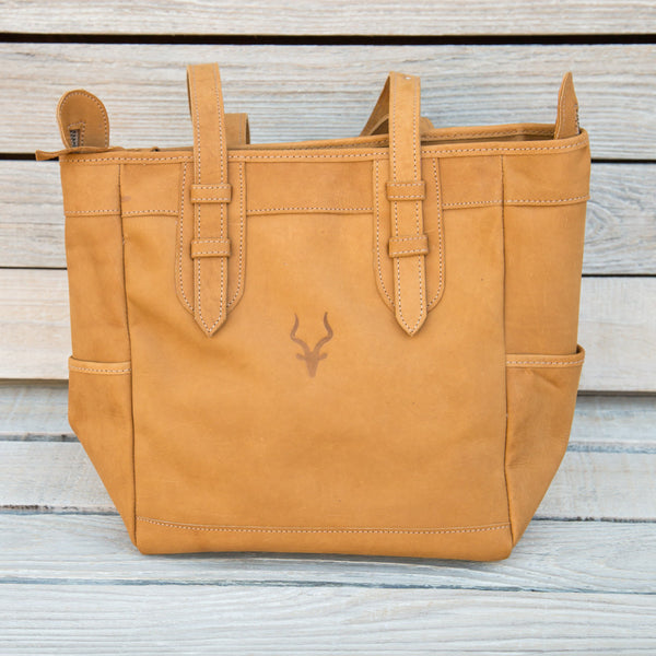 Leather Bahasha Bag