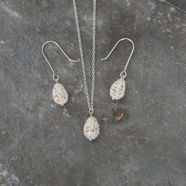 Cristabel Pear-Drop Pendant Necklace