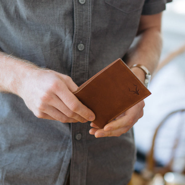 Mzuri Leather Wallet