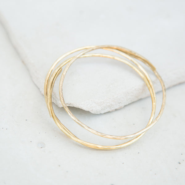 Brass Temple Bracelet