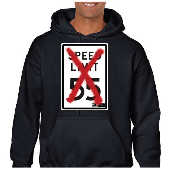 I Can't Drive 55 Pullover Hoodie