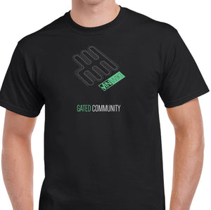 "6-Speed ""Gated Community"" T-Shirt (Limited Edition)"