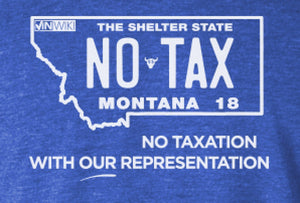 Montana No Taxation Tee