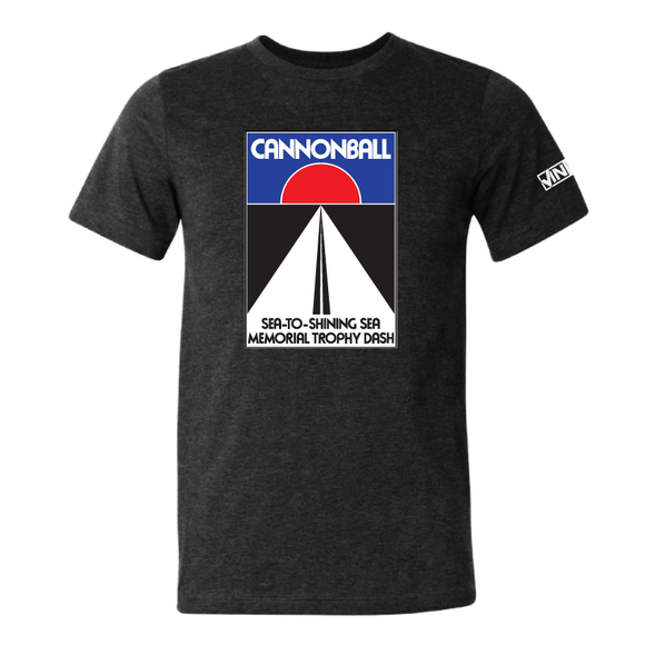 Cannonball Logo Shirt - Black