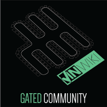 Gated Community Sticker
