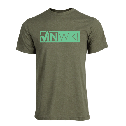 Classic Logo Tee - Green over Green