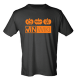Classic Logo Tee - Pumpkin Spice Over Black